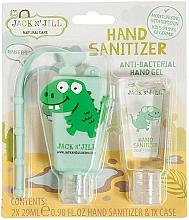 Düfte, Parfümerie und Kosmetik Antibakterielles Handpflegeset für Kinder - Jack N' Jill Hand Sanitizer (Hanreinigungsgel 2x29 ml + Hülle)