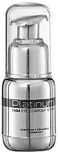 Düfte, Parfümerie und Kosmetik Augenkontur-Serum - Fontana Contarini Platinum Eye Contour Serum