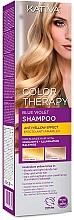 Düfte, Parfümerie und Kosmetik Anti-Gelbstich Shampoo für blondes, graues und weißes Haar - Kativa Color Therapy Anti-Yellow Effect Shampoo