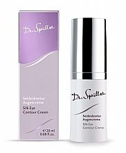 Düfte, Parfümerie und Kosmetik Glättende und verjüngende Creme für die Augenpartie gegen Schwellungen mit Seidenproteinen - Dr. Spiller Silk Eye Contour Cream
