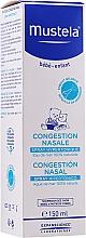 Düfte, Parfümerie und Kosmetik Hypertonisches Nasenspray mit Meerwasser für Babys und Kinder - Mustela Nasal Congestion Hipertonic Spray