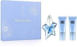 Düfte, Parfümerie und Kosmetik Mugler Angel - Duftset (Eau de Parfum 25ml + Körperlotion 50ml + Duschgel 50ml)
