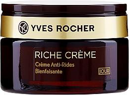 Düfte, Parfümerie und Kosmetik Regenerierende Anti-Falten Tagescreme mit 30 kostbaren Ölen - Yves Rocher Riche Creme Day Cream