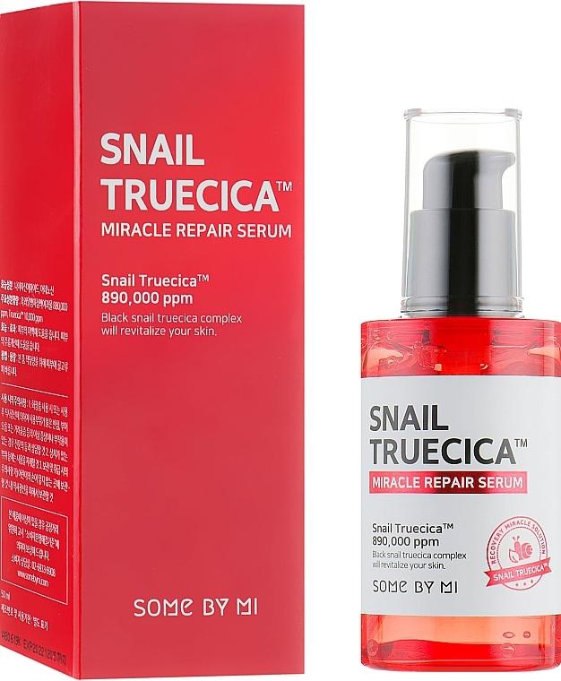 Regenerierendes Gesichtsserum mit Schneckenextrakt - Some By Mi Snail Truecica Miracle Repair Serum