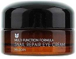 Düfte, Parfümerie und Kosmetik Reparierende Augenkonturcreme mit Schneckenextrakt - Mizon Snail Repair Eye Cream