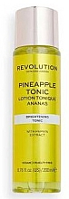 Düfte, Parfümerie und Kosmetik Aufhellendes Gesichtstonikum mit Ananas-Extrakt - Revolution Skincare Brightening Pineapple Tonic