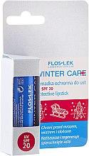 Düfte, Parfümerie und Kosmetik Lippenschutzbalsam SPF 20 - Floslek Winter Care Protective Lipstick