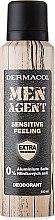 Düfte, Parfümerie und Kosmetik Deospray - Dermacol Men Agent Sensitive Feeling Deodorant