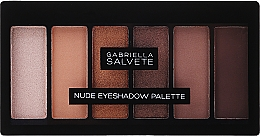 Düfte, Parfümerie und Kosmetik Lidschattenpalette - Gabriella Salvete Nude Eyeshadow Palette