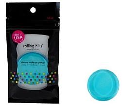 Düfte, Parfümerie und Kosmetik Silikon-Make-up-Schwamm blau - Rolling Hills Silicone Makeup Sponge Blue