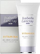Düfte, Parfümerie und Kosmetik Feuchtigkeitsspendende Gesichtsgel-Creme mit Fruchtextrakten - Isabelle Lancray Vitamina Fruity Creamy Gel