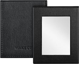 Düfte, Parfümerie und Kosmetik Klappbarer Taschenspiegel schwarz - MakeUp Pocket Mirror Black