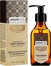 Düfte, Parfümerie und Kosmetik Serum zum Haarwachstum mit Rizinusöl - Arganicare Castor Oil Hair Serum