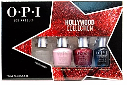 Düfte, Parfümerie und Kosmetik Nagelpflegeset - O.P.I Infinite Shine 2 Hollywood Collection Spring 2021 Mini Set (Nagellack 4x3.75ml)