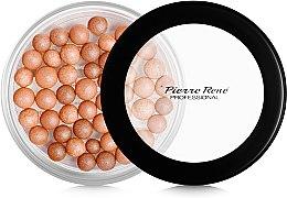 Düfte, Parfümerie und Kosmetik Puderperlen mit Bräunungseffekt für Gesicht - Pierre Rene Powder Balls