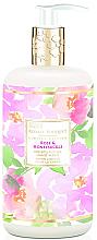 Düfte, Parfümerie und Kosmetik Flüssige Handseife Rose & Honeysuckle - Baylis & Harding Royale Bouquet Rose and Honeysuckle Hand Wash