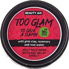 Düfte, Parfümerie und Kosmetik Gelee-Maske für das Gesicht mit Liftingeffekt - Beauty Jar Too Glam To Give A Damn Face Mask