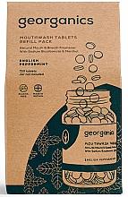 Düfte, Parfümerie und Kosmetik Mundwassertabletten mit englischer Pfefferminze - Georganics Mouthwash Tablets Refill Pack English Peppermint (Refill)