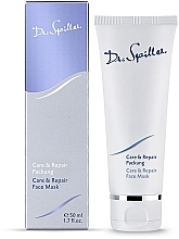 Düfte, Parfümerie und Kosmetik Revitalisierende Maske für junge Haut - Dr. Spiller Care & Repair Face Mask