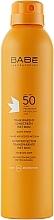 Düfte, Parfümerie und Kosmetik Transparentes und wasserdichtes Sonnenschutzspray SPF 50+ - Babe Laboratorios Fotoprotector Transparente Wet Skin
