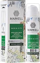 Düfte, Parfümerie und Kosmetik Nachtcreme für fettige und Mischhaut - Markell Cosmetics Skin&City Face Cream