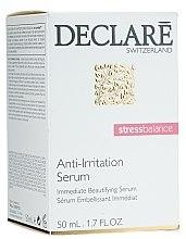 Düfte, Parfümerie und Kosmetik Ausgleichendes, beruhigendes und feuchtigkeitsspendendes Gesichtsserum gegen Rötungen und Müdigkeit - Declare Anti-Irritation Serum