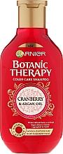 Düfte, Parfümerie und Kosmetik Farbschutz-Shampoo für coloriertes Haar - Garnier Botanic Therapy Argan Oil & Cranberry Shampoo