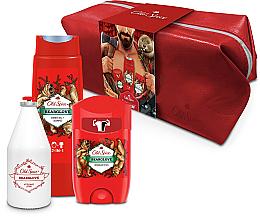 Düfte, Parfümerie und Kosmetik Körperpflegeset - Old Spice Bearglove Travel (Deostick 50g + 2in1 Duschgel & Shampoo 250ml + After Shave Lotion 100ml + Kosmetiktasche)