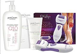 Düfte, Parfümerie und Kosmetik Set - Postquam Moisturizer Q10 Lot (b/milk/400ml+h/cr/75ml+foot/electric/lima)