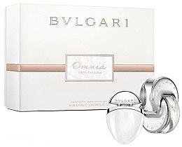Düfte, Parfümerie und Kosmetik Bvlgari Omnia Crystalline - Duftset (Eau de Toilette 65ml + Eau de Toilette 15ml)