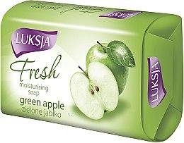 Düfte, Parfümerie und Kosmetik Feuchtigkeitsspendende Seife mit Duft von grünem Apfel - Luksja Fresh Green Apple Moisturizing Soap