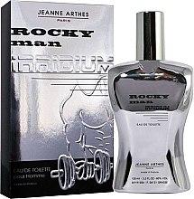 Düfte, Parfümerie und Kosmetik Jeanne Arthes Rocky Man Irridium - Eau de Toilette