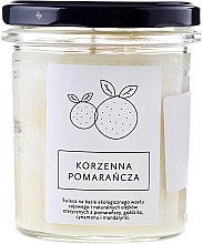Düfte, Parfümerie und Kosmetik Soja-Duftkerze Spicy Orange - Hagi Spicy Orange Soy Candle