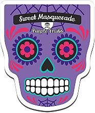Düfte, Parfümerie und Kosmetik Revitalisierende und feuchtigkeitsspendende Tuchmaske mit Blaubeerextrakt - Dr Mola Sweet Masquarade Pureple Fruits mask
