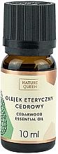 Düfte, Parfümerie und Kosmetik Ätherisches Zederholzöl - Nature Queen Essential Oil Cedarwood