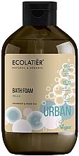 Düfte, Parfümerie und Kosmetik Entspannender Badeschaum mit Amarant und weißem Tee - Ecolatier Urban Bath Foam