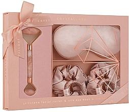 Düfte, Parfümerie und Kosmetik Gesichtspflegeset - Crystallove Rose Quartz Home SPA Set