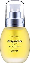 Düfte, Parfümerie und Kosmetik Beruhigendes und tonisierendes Anti-Aging Gesichtsserum - AromaWorks Delicate Face Serum Oil