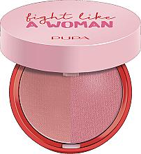 Düfte, Parfümerie und Kosmetik Kompaktrouge - Pupa Fight A Like Woman Extreme Duo Blush