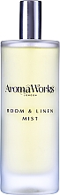 Düfte, Parfümerie und Kosmetik Raum- und Wäschespray mit Bergamotte- und Rosenduft - AromaWorks Harmony Room Mist