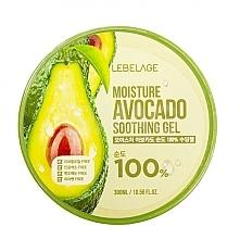 Düfte, Parfümerie und Kosmetik 100% Beruhigendes Gel mit Avocado - Lebelage Moisture Avocado 100% Soothing Gel
