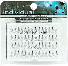 Düfte, Parfümerie und Kosmetik Wimpernbüschel-Set - Ardell Duralash Naturals Knot Flare Long Black (56 Lashes)