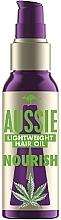 Düfte, Parfümerie und Kosmetik Pflegendes Haaröl mit Hanfsamenextrakt - Aussie Miracle Oil Nourish