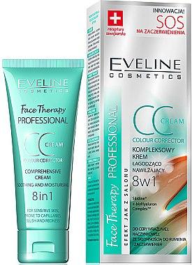 Beruhigende Gesichtscreme - Eveline Cosmetics Therapy