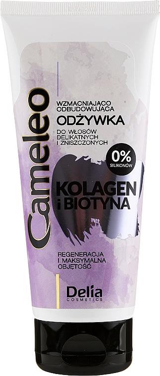 Haarspülung mit Kollagen und Biotin - Delia Cameleo Collagen And Biotin Conditioner