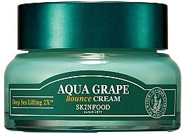 Düfte, Parfümerie und Kosmetik Feuchtigkeitsspendende Gesichtscreme mit Seetraubenextrakt - SkinFood Aqua Grape Bounce Cream