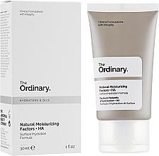 Düfte, Parfümerie und Kosmetik Gesichtspflege mit natürlichen feuchtigkeitsspendenden Faktoren und Hyaluronsäure - The Ordinary Natural Moisturizing Factors + HA