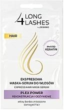Düfte, Parfümerie und Kosmetik Nährendes Haarmaske-Serum - Long4Lashes Hair Plex Power