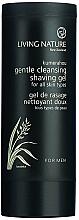 Düfte, Parfümerie und Kosmetik Schonendes Rasiergel - Living Nature Gentle Cleansing Shaving Gel