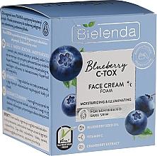 Düfte, Parfümerie und Kosmetik Feuchtigkeitsspendende Gesichtscreme mit Blaubeere - Bielenda Blueberry C-Tox Face Cream